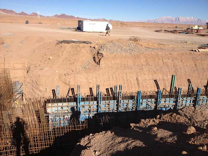 پروژه کارخانه فولاد بردسیر کرمان شرکت ضمان